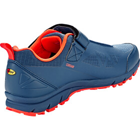 Northwave Corsair Miehet kengät , oranssi/sininen